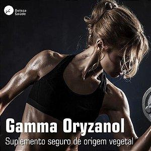 Gamma Oryzanol 300mg - Ganho de Massa Magra - 60 doses