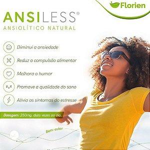 Ansiless 250mg : Insônia Compulsão Alimentar Stress 120 Caps