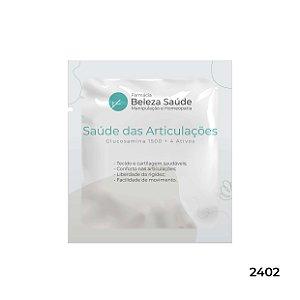 Glucosamina 1500 + 4 Ativos - Saúde das Articulações - 75 doses