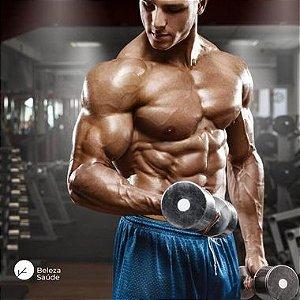 Mega Massa Muscular : Complexo de Aminoácidos - Ganho, Definição, Potência - 120 doses