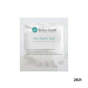 Mix Right 12gr - Aminoácidos Essenciais com a Proporção Molar do Dr. Lair Ribeiro - 35 doses
