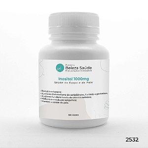 Inositol 1000mg Saúde do Corpo e da Pele - 180 doses