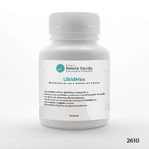 LibidMax Estimulante para Ambos os Sexos : Diminui a Frigidez em Mulheres - 60 doses