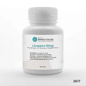 Licopeno 10mg : Prevenção de Doenças Saúde física - 120 doses