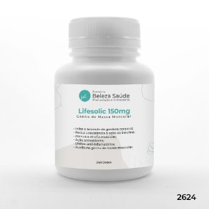 Lifesolic 150mg ( Ácido Ursólico )  Ganho de Massa Muscular - 240 doses
