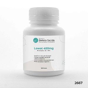 Lowat 450mg - Redução de IMC - 120 doses