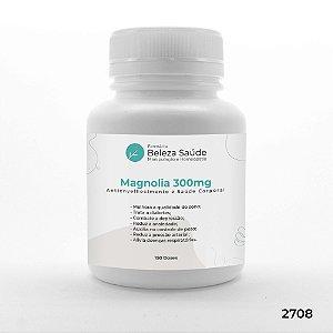 Magnolia 300mg Antienvelhecimento e Saúde Corporal - 150 doses