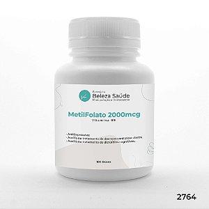 MetilFolato 2000mcg Vitamina B9 - 100 doses