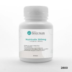 Nutricolin 300mg + Vitamina C 500mg - 90 doses