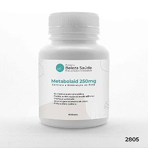 Metabolaid 250mg : Controle e Diminuição de Peso, Combate o Efeito Sanfona - 60 doses