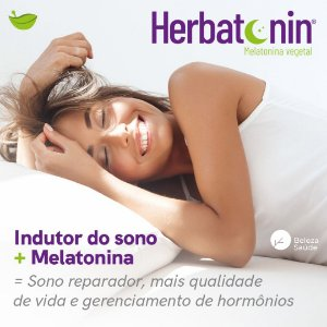 Fitomelatonina Herbatonin 50mg : Melatonina Vegetal 60 Caps