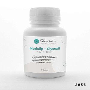 Modulip 100mg + Glycoxil 100mg - Auxilia Modulação Corporal - 60 doses