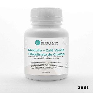 Modulip Gc + Green Coffe + Picolinato De Cromo - Termogênico - 120 doses