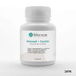 Morosil 500mg + Cactin 500mg Redução de Medidas - 60 doses