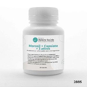 Morosil + Capsiate + 3 Ativos - Diurético e Antioxidante - 60 doses