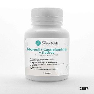 Morosil + Cassiolamina + 6 Ativos - Gerenciamento do Peso - 60 doses