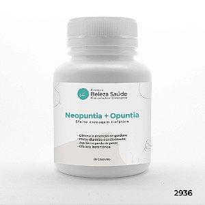 Neopuntia + Opuntia - Efeito Drenagem Linfática - 60 doses