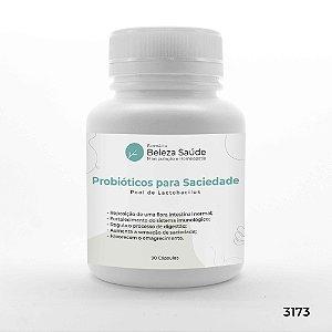 Probióticos para Saciedade - Pool de Lactobacillus - 90 Cápsulas
