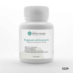 Pygeum Africanum 110mg - 180 Cápsulas