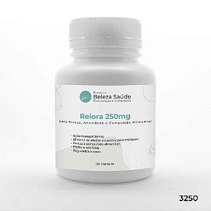 Relora 250mg - Anti Stress, Ansiedade e Compulsão Alimentar - 120 Cápsulas