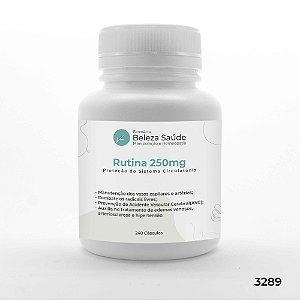 Rutina 250mg Proteção Sistema Circulatório - 240 Cápsulas