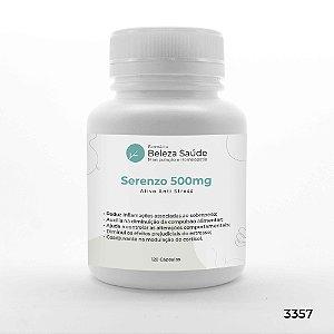 Serenzo 500mg Ativo Anti Stress - 120 Cápsulas