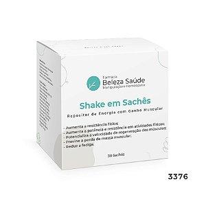 Shake em Sachês - Repositor de Energia com Ganho Muscular - 30 Sachês