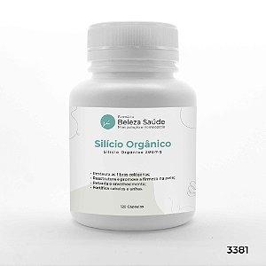 Silício Orgânico 200mg - 120 Cápsulas