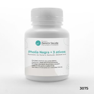 Pholia Negra + Pholia Magra + Koubo + Oligonol : Controle da Fome e Redução Abdominal