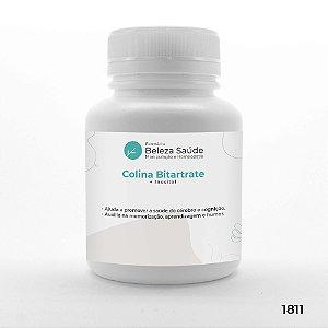 Colina Bitartrate + Inositol - Saúde do Cérebro