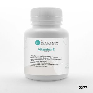 Vitamina E (Alfa Tocoferol) 400ui