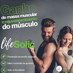 Lifesolic  450mg ( Ácido Ursólico ) Ganho de Massa Muscular