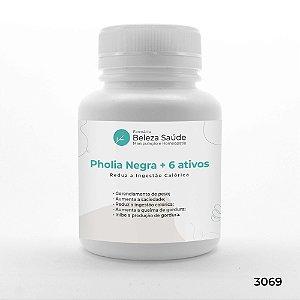 Pholia Negra + 6 Ativos - Reduz a Ingestão Calórica