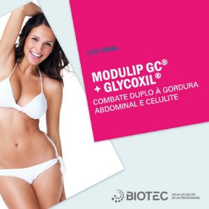 Modulip 100mg + Glycoxil 100mg - Auxilia Modulação Corporal