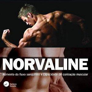Norvaline 200mg Força Muscular e Resistência