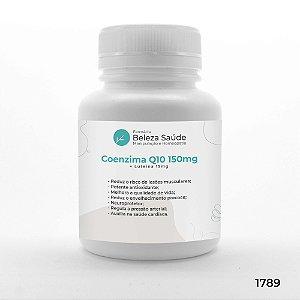 Coenzima Q10 150mg + Luteina 15mg - Saúde Mental e Física
