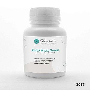 Phito Maxx Green - 3 Ativos - Antioxidante e Diurético