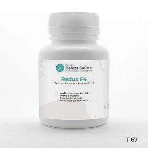 Redux F4 - Diurético, Calmante e Desintoxicantes