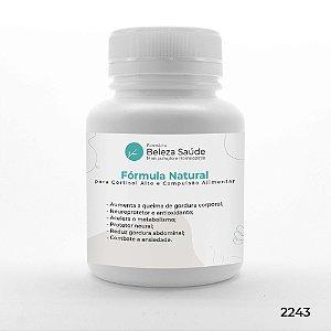 Fórmula Natural para Cortisol Alto e Compulsão Alimentar