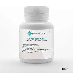 Composto Oral para Tratamento da Acne e Rosácea