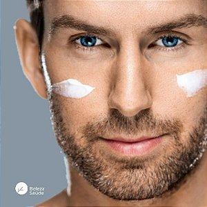 Creme para Homens Anti Rugas e Flacidez Facial