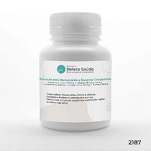 Fórmula Forte para Hemorroida e Sistema Circulatório