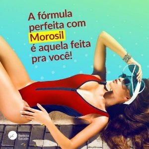 Morosil + Saffrin + 2 Ativos - Combate a Compulsão Alimentar