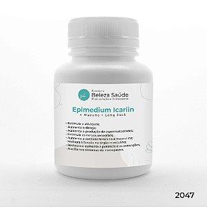 Epimedium  + Mucuna + Long Jack - Aumento do Desempenho Homem e Mulher