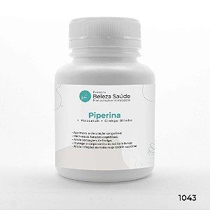 Piperina + Piracetan + Ginkgo Biloba - Saúde Mental do Corpo