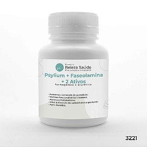 Psyllium + Faseolamina + 2 Ativos - Termogênico e Diurético