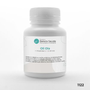 Oli Ola + Vitamina C + 2 Ativos - Combate Melasma e Manchas