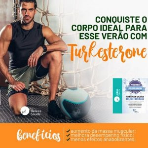 Turkesterone 500mg + Tribulus Terrestris 625mg : Força Muscular, Estimulante Sexual, Libido