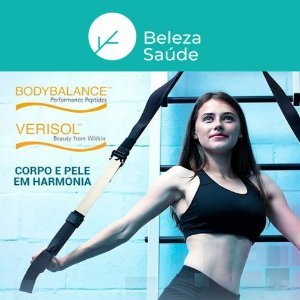 Fonte da Juventude Pele Incrível e um Corpo Definido : Verisol + Bodybalance