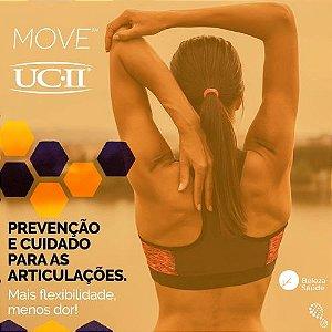 Move 25mg  + Uc II 20mg - Artrite e Dores nas Articulações